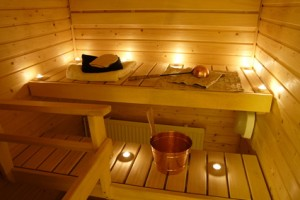In fast jedem Haus zu finden - die finnische Sauna (Bild: Sandra Kemppainen - Fotolia.com)