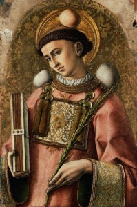Der heilige Stephanus