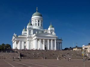 Im Dom von Helsinki finden Gedenkgottesdienste am finnischen Unabhängigkeitstag statt