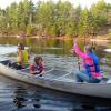 Finnlands Seen mit dem Kanu entdecken